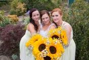 Sunflowers for a wedding bouquet