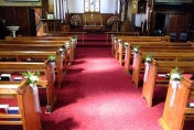 Christchurch Wedding Church Flowers