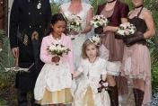 Wedding flowers for a Steam Punk Wedding