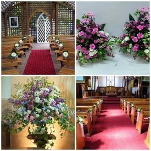 Church Flowers, Church Flower Arrangments