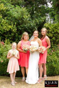 Natural hand tied wedding bouquet